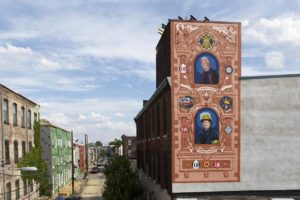 Photo by Steve Weinik c/o City of Philadelphia Mural Arts Program