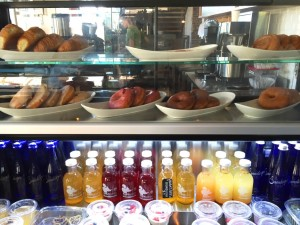 Front Street Cafe: Healthy Grab and Go options. Coconut Yogurt Parfait; Kombucha; Chia Seed Pudding; Mushroom Quinoa Burger; Tofu Bahn Mi