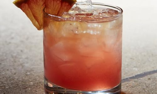 Short Red Cocktail