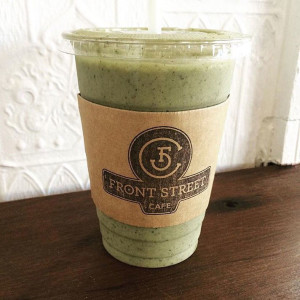 Front Street Cafe: Matcha Mint Chip Smoothie