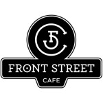 Front Street Cafe Street Sign Logo