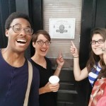 Neighborhood crew is excited that Front Street Cafe will soon be open!